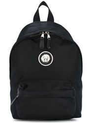 Versus Logo Backpack Black