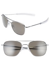 Randolph Engineering Men's 58Mm Polarized Aviator Sunglasses