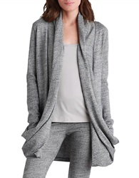 Ugg Draped Open Front Cardigan Grey