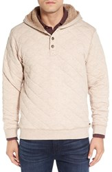 Uggr Men's Ugg 'Brewer' Quilted Hoodie Oatmeal Heather