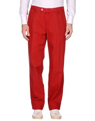 Zegna Sport Casual Pants Red
