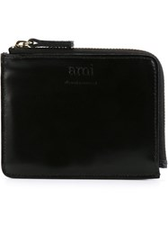 Ami Alexandre Mattiussi Zip Around Coin Purse Black