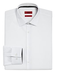 Hugo Solid Slim Fit Dress Shirt White