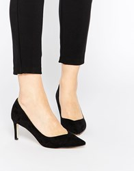 Asos Soulmate Pointed Heels Black