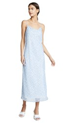 C Meo Collective So Settled Dress Blue Abstract Floral