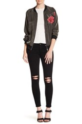Ag Jeans Distressed Super Skinny Jean Black