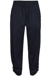 Mother Of Pearl Twill Tapered Pants Navy