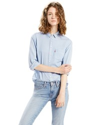 Levi's Classic One Pocket Shirt Light Mariss