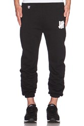 Undefeated 5 Strike Sweatpant Black And White