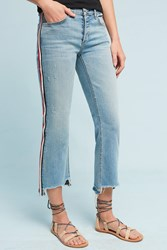 Anthropologie Mcguire Ibiza Mid Rise Cropped Skinny Jeans Red