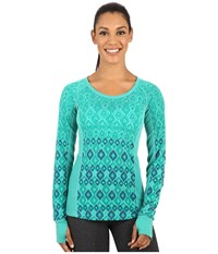 Marmot Gabby Long Sleeve Gem Green Women's Long Sleeve Pullover