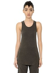 Haider Ackermann Cotton And Wool Blend Jersey Top