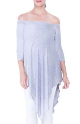Olian Women's Off The Shoulder Maternity Tunic