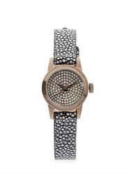 Christian Koban Cute White Diamonds And Stingray Watch