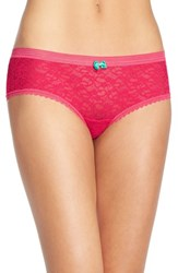 Women's Kensie 'Rhea' Lace Boyshorts 3 For 30