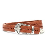 Isabel Marant Jigoo Leather Belt Brown