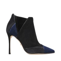 Sergio Rossi Christabel Cut Out Bootie