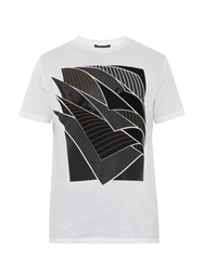 Christopher Kane Geomteric Paper T Shirt