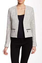 Dex Boucle Knit Blazer Black