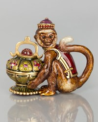 Monkey Box Multi Colors Jay Strongwater