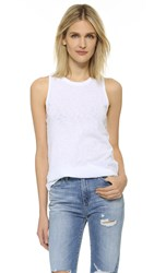 Stateside Royal Supima Tank White