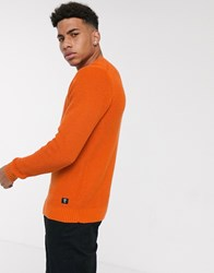 Tom Tailor Knitted Jumper In Orange