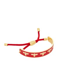 Halcyon Days Bumble Bee Friendship Bracelet Red