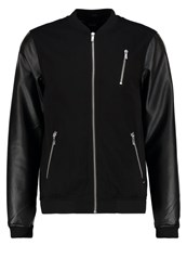 Solid Errit Bomber Jacket Black