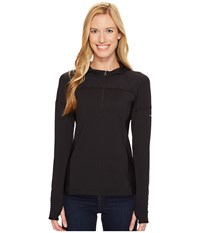 Columbia Solar Ridge Hoodie Black Women's Sweatshirt