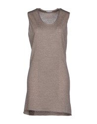 Ballantyne Dresses Short Dresses Women Grey