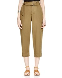 Free People Soft Cargo Pants Army