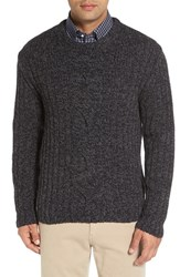 Peter Millar Men's Veneto Cashmere And Wool Cable Knit Sweater