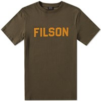 Filson Outfitter Graphic Logo Tee Green