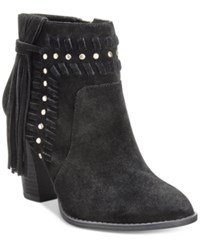 Inc International Concepts Women's Jade Suede Fringe Booties Only At Macy's Women's Shoes