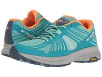 Columbia Mojave Trail Aquarium Jupiter Women's Running Shoes Blue