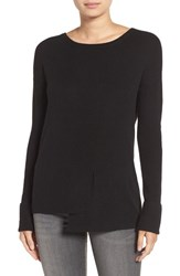 Trouve Women's Ribbed Pullover