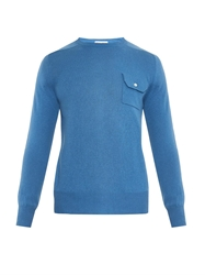 Michael Bastian Chest Pocket Cashmere Sweater