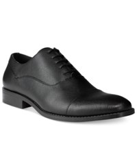 Unlisted By Kenneth Cole Men's Half Time Oxfords Men's Shoes Black