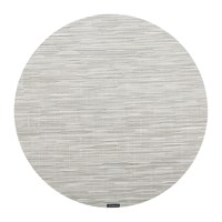 Chilewich Bamboo Round Placemat Chalk