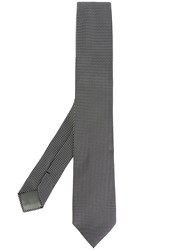Dell'oglio Polka Dot Tie Silk Grey