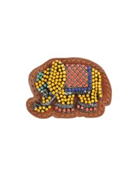 Vionnet Brooches Camel