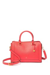 Mcm Saffiano Leather Small Tote Bag Poppy Red
