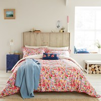 Joules Hollyhock Meadow Duvet Cover Multi