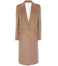Joseph Wool Blend Coat Brown