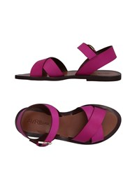 Avril Gau Sandals Fuchsia