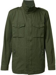 Neuw Funnel Neck Jacket Green