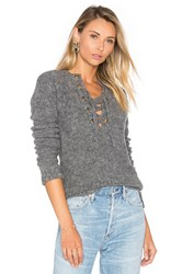 Lovers Friends X Revolve Rocky Sweater Gray