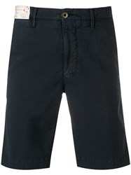 Incotex Deck Shorts Blue