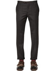 Etro 18Cm Tailored Stretch Wool Jersey Pants