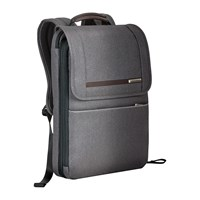 Briggs And Riley Kinzie Flapover Expandable Backpack Grey